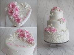 Svatební dorty - Úžasné dorty - Markéta Sukupová Themed Wedding Cakes, Cake Designs, Desserts, Food, Tailgate Desserts, Deserts, Essen, Postres, Meals