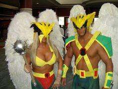 Hawkwoman and Hawkman #hawkman #cosplay #hawkwoman
