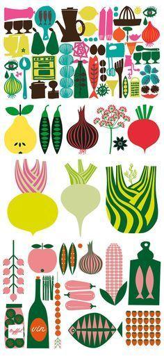 Lotta Kühlhorn food illustration