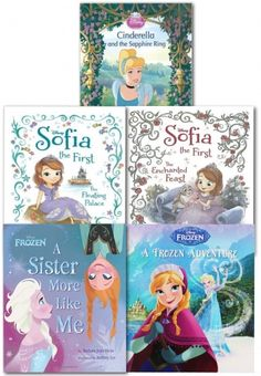 Disney Princess by Disney  #disney #princess #frozen  http://www.snazal.com/disney-princess-sofia-and-frozen-5-books-collection-set--DEALMAN-U5-DisneyPicture-5bks.html