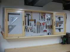 Workshop Pegboard | Pegboard Tool Cabinet Construction