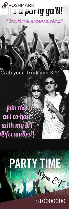 Co-hosting my 2nd party! Woot woot! It's happening again...I'm co-hosting another party but this time with my wild and crazy (check her out @fccandles and you'll understand ) but badass forever friend Kim! Mark your calendar for Sunday July 17th at 10pm eastern time TBA. As always, I will be on the lookout for Host Picks from closets that comply with Posh rules See you there! ✌ kate spade Bags