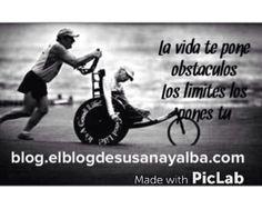 La vida te pone obstáculos los límites los pones tu!! ;-)
