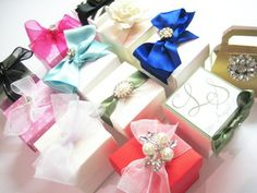 personalised wedding favour boxes
