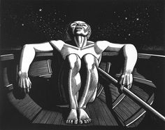 Drifter, 1933 by Rockwell Kent on Curiator, the world's biggest collaborative art collection. Wood Engraving Tools, Engraving Art, Engraving Ideas, Rockwell Kent, Davidson Galleries, Digital Museum, Black White Art, Collaborative Art, Ink Pen Drawings