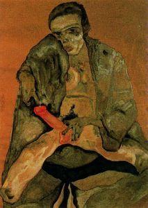Éros - (Egon Schiele)