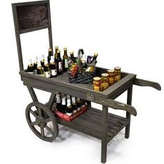 Wooden crates on wheels - Google Search