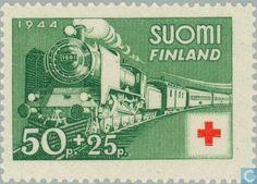 Finland - 50 25 green 1944