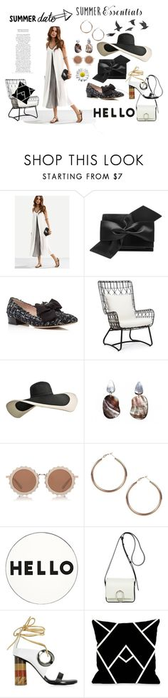 """Modern Black and white"" by lenaxyn on Polyvore featuring Victoria Beckham, Kate Spade, Palecek, Niin, House of Holland, Boohoo, Lisa Perry, 3.1 Phillip Lim, Proenza Schouler and One Bella Casa"