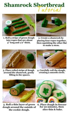 Shamrock Shortbread Tutorial