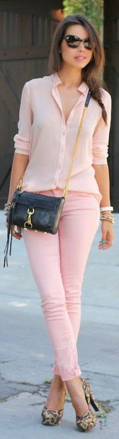 inspiration fashion: Omg such a cute spring look.