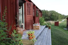 Summer House Dream on the West Coast - Stugor att hyra i Orust V, Västra Götalands län, Sverige Outdoor Food, Outdoor Decor, Big Garden, Open Kitchen, Lounge Areas, Late Summer, Double Beds, Maine House, Beautiful Islands