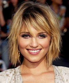The bob that started my quest for short hair with bangs.