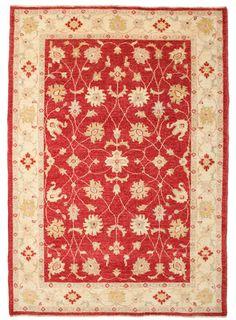 Ten dywan jest tkany w Pakistanie z wykorzystaniem tradycyjnych technik pochodzących z miasta Arak w Persji. Angielska firma Zeigler & Co.