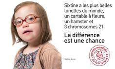 21/03 : Trisomie 21, une campagne pour la journée mondiale - En ce ...
