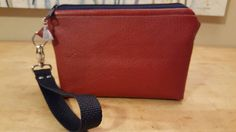 Red leather wristlet / clutch purse checking out this item in my Etsy shop https://www.etsy.com/listing/494764864/red-leather-wristlet-clutch