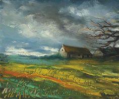 Maurice de Vlaminck, Les maisons