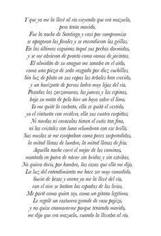 La casada infiel. Federico García Lorca.