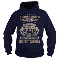 Dialysis Technician T Shirts, Hoodies, Sweatshirts. CHECK PRICE ==► https://www.sunfrog.com/LifeStyle/Dialysis-Technician-92283004-Navy-Blue-Hoodie.html?41382