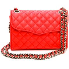 Rebecca Minkoff Quilted Mini Affair Cross Body Bag found on Polyvore