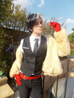 Disney Character Cosplay Cruella de Vil is listed (or ranked) 2 on the list 20 Hot Nerd Dudes in Unbelievably Sexy Genderbending Cosplays Disney Cosplay, Anime Cosplay, Genderbent Cosplay, Epic Cosplay, Male Cosplay, Amazing Cosplay, Cosplay Outfits, Rave Outfits, Villain Costumes