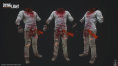 Dying Light character textures art dump