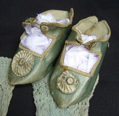 French silk doll shoes