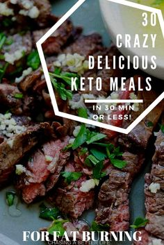 These 30 keto dinners are amazing! I'm so glad I found these AWESOME keto dinners ready in 30 minutes or less! I have some GREAT KETO dinners to try today! I've been wanting to try this Ketogenic lifestyle! So pinning this keto pin! #ketogenic #keto #ketogenicrecipes #keto #ketorecipes #lowcarb #keto