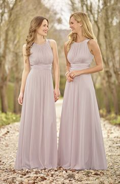 Sizes: 6-26  Pearl high twist chiffon long bridesmaid dress with stretch satin trim.   Bridesmaids dresses are made to order and can take up to 12 weeks. Fabric swatches are available to order upon request – contact your local stockist. Not all sizes and  http://ladieshighheelshoes.blogspot.com/2016/01/fall-winter-2015-2016-shoe-trends-from.html