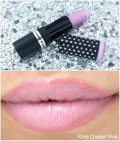 this was like white chalk..not good formula to me..it was pathcy had..chalk look..prob fun for young peeps..Hard Candy Fierce Effects Lipsticks: Review and Swatches