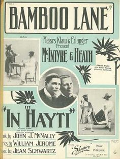 Sheet Music - Bamboo lane