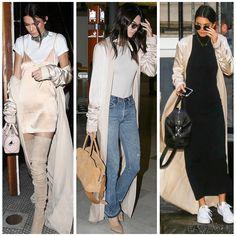 Kendall Jenner maxi robe
