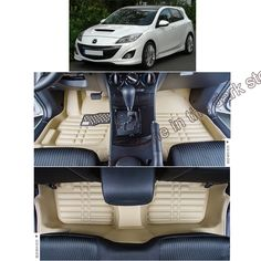 free shipping leather car floor mat carpet rug for mazda 3 2nd generation 2008 2009 2010 2011 2012 2013-in Stickers from Automobiles & Motorcycles on Aliexpress.com | Alibaba Group