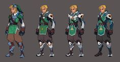 If Link Was An Overwatch Character...