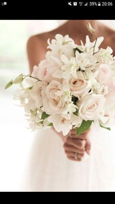 white orchids and blush roses