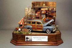 1/24 scale diorama by Masashi Kohara