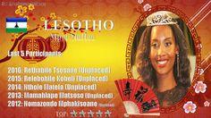 Mpoi Mallao Miss World 2017 contestant banner Lesotho