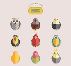birds-vector