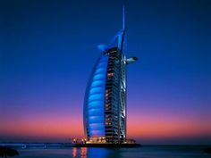 Burj Al Arab - Luxury Hotel in Dubai. One of the Top Travel Places in the World. See more at jebiga.com #travel #dubai #burjalarab #luxury