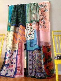 Gypsy Boho Curtain Panels Window Treatment Bohemian by ohMYcharley, $140.00