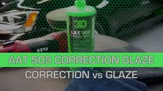 Donald demonstrates the difference between using AAT 505 for correction on scratches, and using 505 with montan wax with a foam pad as a glaze.  This is a great product for auto detailing.  Use on the exterior for polishing and as a compound.