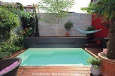 Aucun jardin n'est trop petit pour une piscine | Caron Piscines