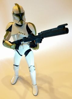 #7 Black Series - Clone Trooper Sargent. Photo by Steve Jones.