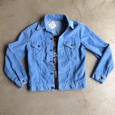 Hello it's me...your new wardrobe... Baby blue corduroy Levi's jacket size small, $38 plus $16 domestic shipping and badass Todd Rundgren '83-'84 tour cropped tank, $75 plus $8 domestic shipping. Call 415-796-2398 to purchase by phone or send PayPal payment to afterlifeboutique@gmail.com and reference item in post