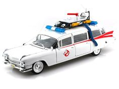 """1959 Cadillac Ambulance From Ghostbusters Regular Edition White Brand new scale Diecast Model car of 1959 Cadillac Ambulance From """"Ghostbusters Movie Die-Cast car model by Hotwheels. Open Doors Made of diecast with some plastic parts. Chevy Nova, Chevy Impala, Amc Gremlin, 1959 Cadillac, Dodge Daytona, Buick Riviera, Pontiac Firebird, Land Cruiser, Mopar"""
