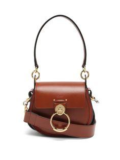 Tess small leather cross-body bag | Chloé | MATCHESFASHION Stylish Handbags, Purses And Handbags, Chloe Handbags, Fabric Handbags, Leather Crossbody Bag, Leather Handbags, Leather Bags, Leather Purses, Best Designer Bags