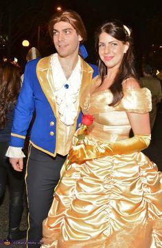 Beauty and the Beast - Halloween Costume Contest via @costumeworks