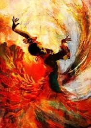 Image result for painting of flamenco dancer