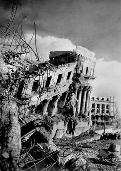 Legistive Building after the Battle for Manila August 1945 Philippines People, Visit Philippines, Philippines Culture, Manila Philippines, Cancun Hotels, Beach Hotels, Beach Resorts, Beach Trip, Philippines
