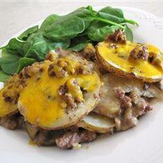 Casserole de bœuf haché et patates @ qc.allrecipes.ca